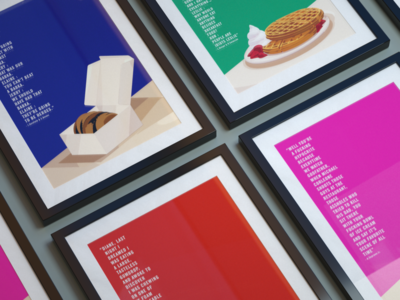 Food On Tv Posters