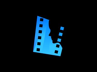 Film Girl Logo Design design illustration color illustration cinema film reel film girl film girl brand identity branding logo design logo