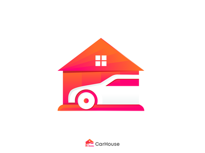 Car House Logo Design car service automotive house car brand identity brand design branding logo design logo