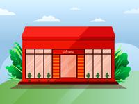 Storefront illustration
