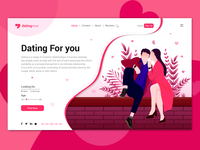 Dating for you Landing Page