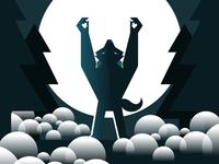 Werewolf Illustration Halloween
