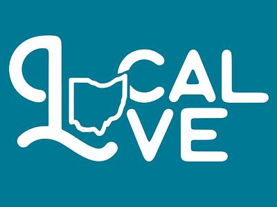 Local Love - 17:10 Market Tee-Shirt typography branding design teeshirt
