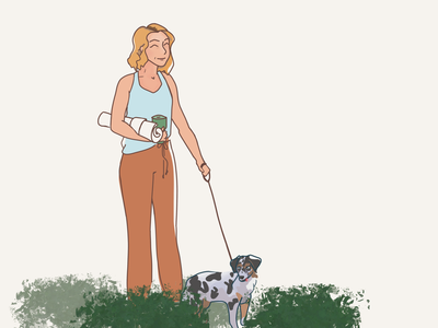Audience Representation - My Dog's ID charater design design illustration flat brandscript branding