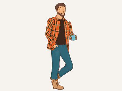 Audience Representation - PIE minimal brandscript charater design flat illustration design branding