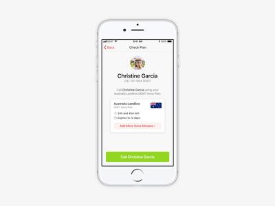 Voice Call Initiation Animation dentapp dent utility voip call voice crypto app