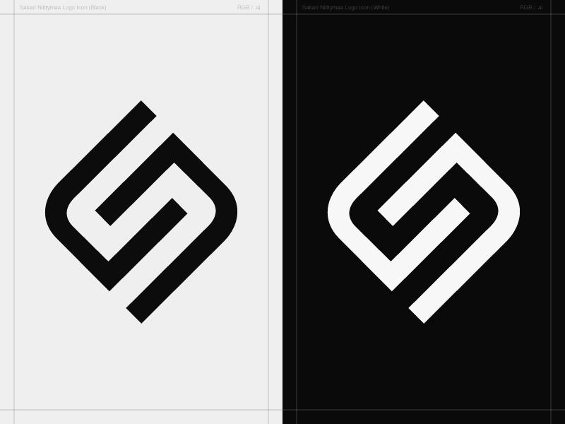 Sn Monogram Personal Logo Concept By Sakari Niittymaa Dribbble