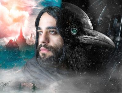 prpht rvn adobe cinematic raven portraiture