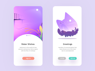 Wishes digital colors art scratch trending recent best top most new vector illustrator webdesigm uiux android concept idea app illustration