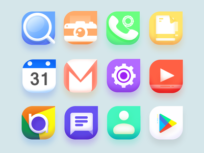 Android Icons icons design free most trending illustrator photoshop scratch full vector best top latest new set icons