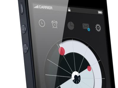 Iphone Clock UI
