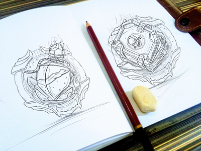 Icons Sketches! note death potion concept idea sketch icons game