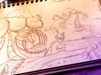 Game background Sketch!