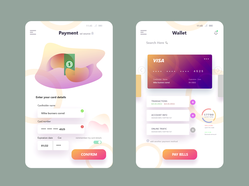 Pay/wallet