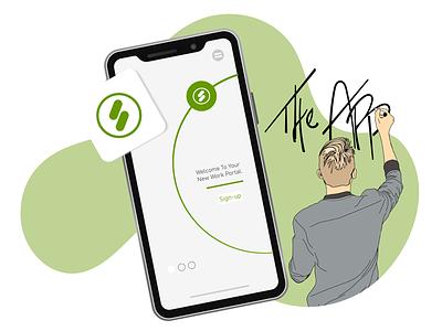 Digital Art - Product Graphic nc charlotte freelance project digitalart software app adobeillustrator sketchbook business crm
