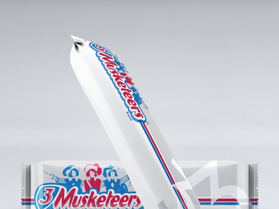 3Musketeers Candy Wrapper
