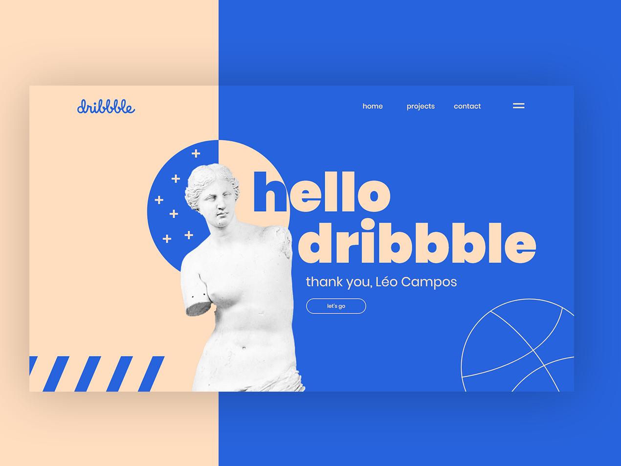 Hello Dribbble! hellodribbble hello dribbble ux web app design ui