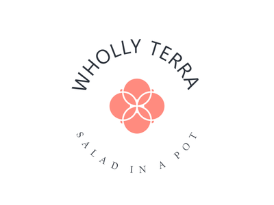 Wholly Terra branding beauty clean modern food organic nature packaging cosmetics environment care brand identity logo branding icon design