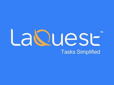 LaQuest-logo redesign logodesigns logotype rebranding brand identity technology software ux ui icon branding logo design
