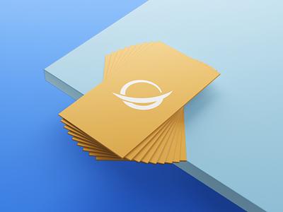 LaQuest Rebranding orange business card software technology brand identity branding illustration design logo icon q logo mark