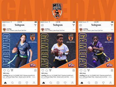 Miami Lakes Flag Football Social Media Campaign PT.3