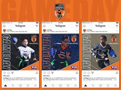 Miami Lakes Flag Football Social Media Campaign PT.4