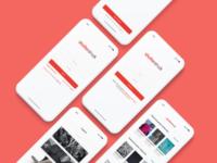 Shutterstock app redesign