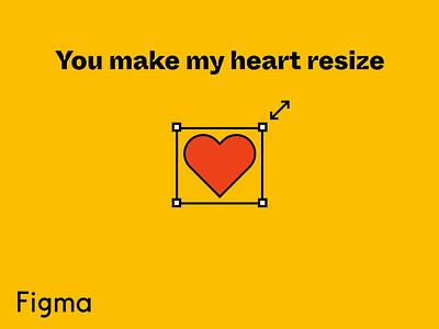 Figma Valentine's Pun o' Matic illustration figmadesign figma design pun valentines