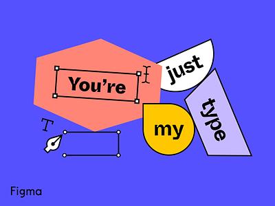 Figma Valentine Pun graphic design design art illustration figmadesign figma pun valentine