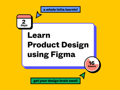 Learn Product Design @ Skillcamp on April 27 & 28, 2020 skillcamp rogie rogie king design tool figma workshop digital design product design design