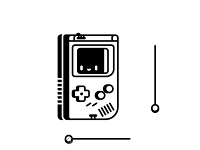 Figma Smart Animated Gameboy animation rogie king smart animate figmadesign figma art illustration