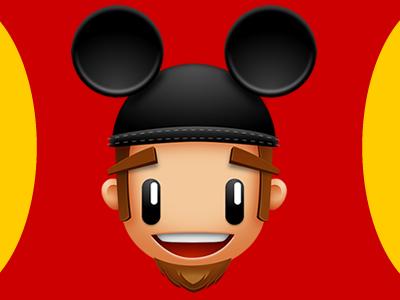 Disney Me mickey ears dork disney freak