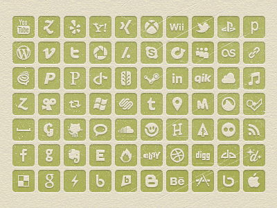 Let's Get Social fine goods social icons