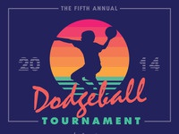 Narrate dodgeball poster 2014
