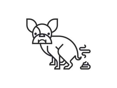 Dog Pooping dog poop steam