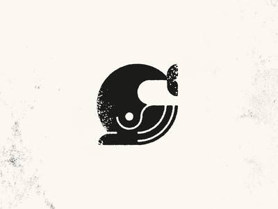 Whale whale circle logo mark illustration