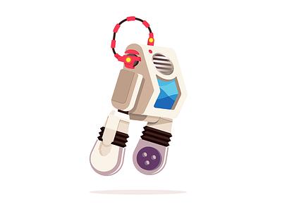 HAN-S walle robot pixar disney art illustration