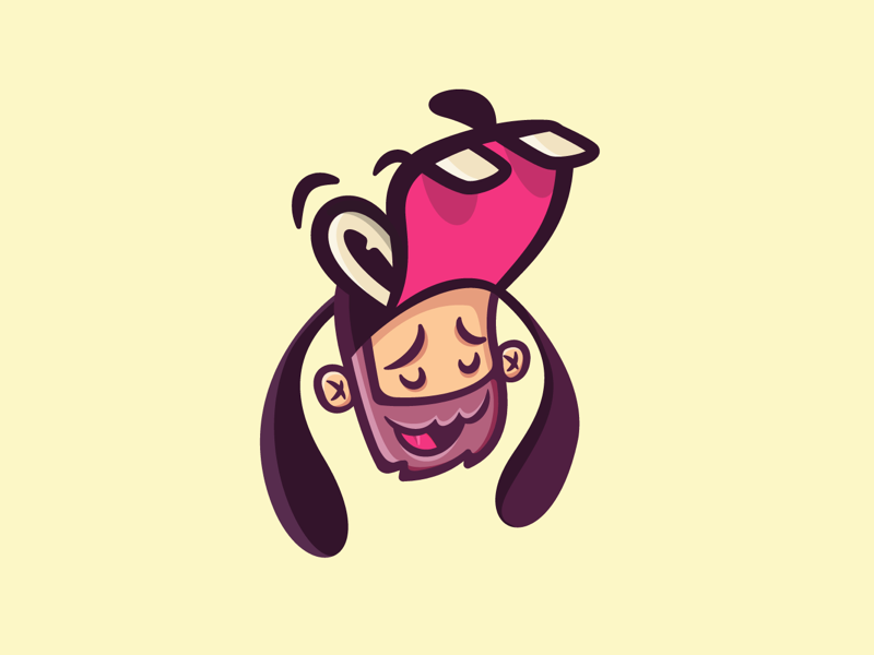 Gawrsh disney goofy character illustration art avatar