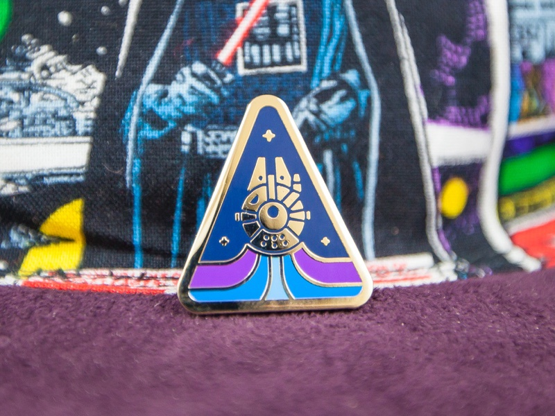 Falcon Lapel Pin star wars pin
