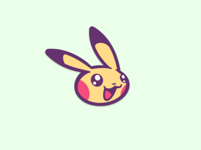 Pikachu Sticker