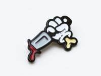 Slasher Lapel Pin
