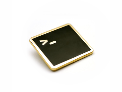 Terminal Lapel Pin pin lapel os mac development dev terminal