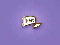 Naps Lapel Pin
