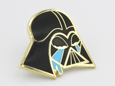 Tears of the Dark Lord darth vader collectible pin lapel pin star wars