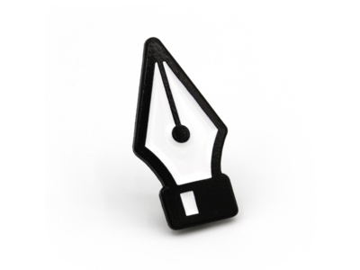 Pen Tool Enamel Pin