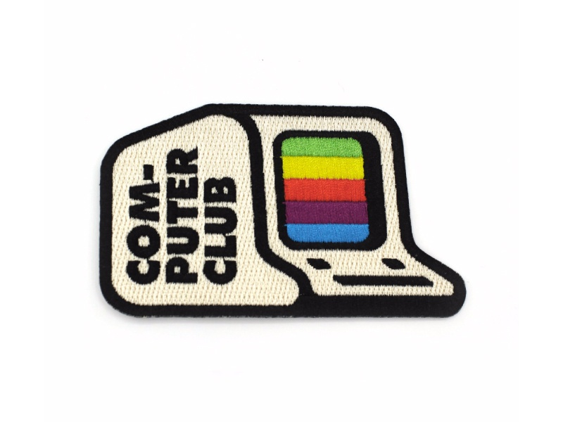 Computer Club Patch product retro computer patch
