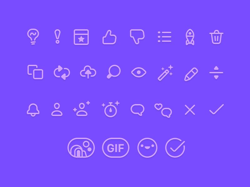 Yala Icons design ui icons