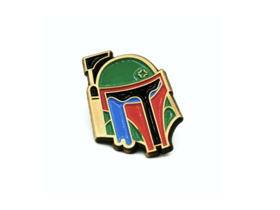Tears of a Bounty Hunter Enamel Pin