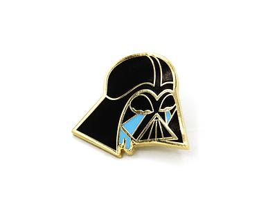 Tears of the Dark Lord Enamel Pin darth vader illustration art pin enamel pin star wars