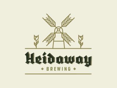 Heidaway Brewery Logo german holland dutch logo brewery